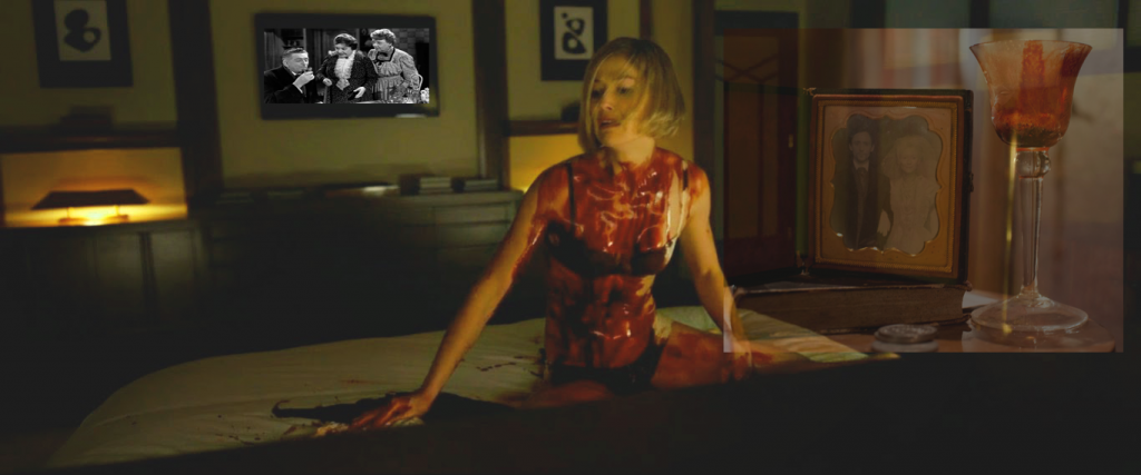 gone girl rosamund pike futuro ontem amy killing with desi blood